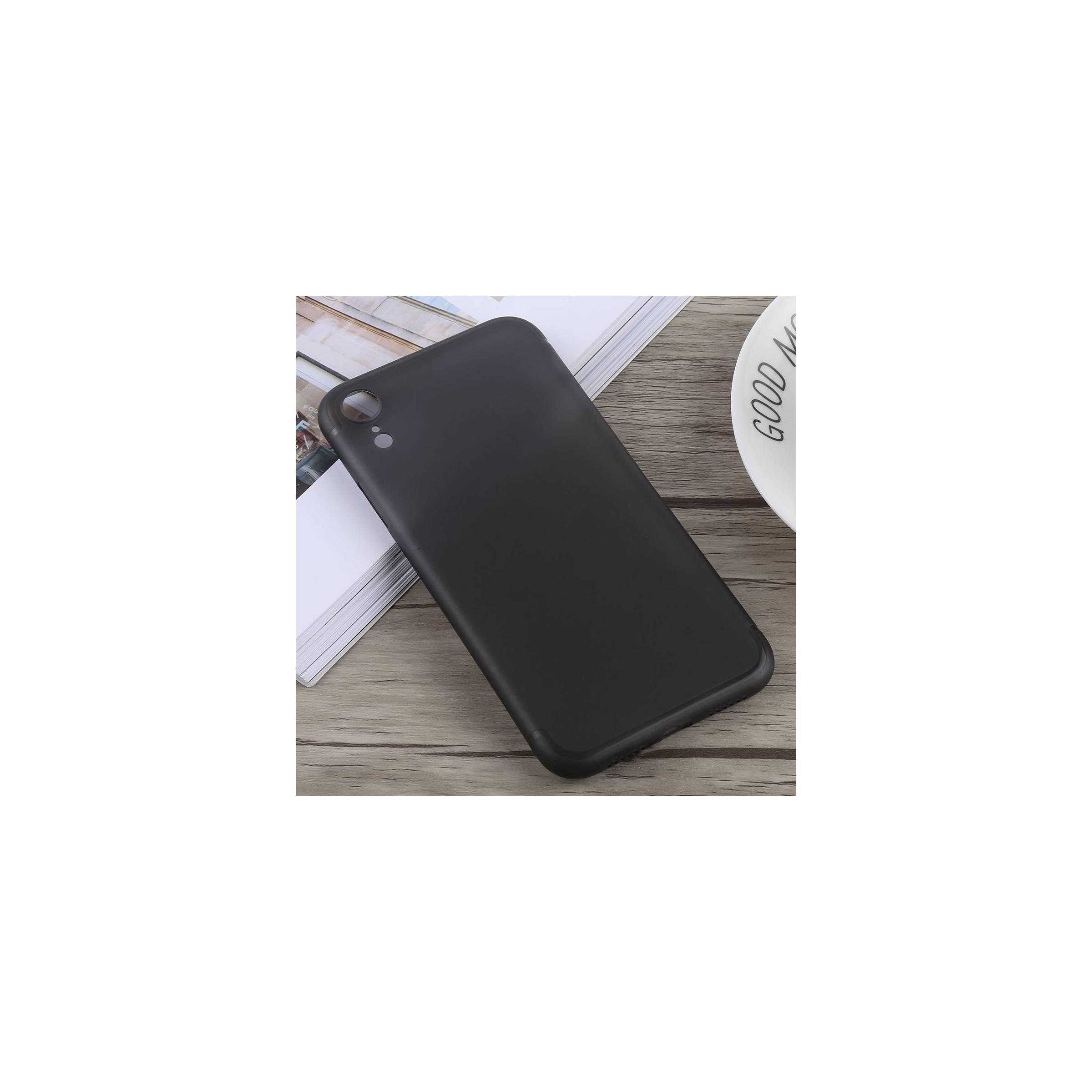 kina oem Ultra tyndt cover til iphone xr farve sort fra mackabler.dk