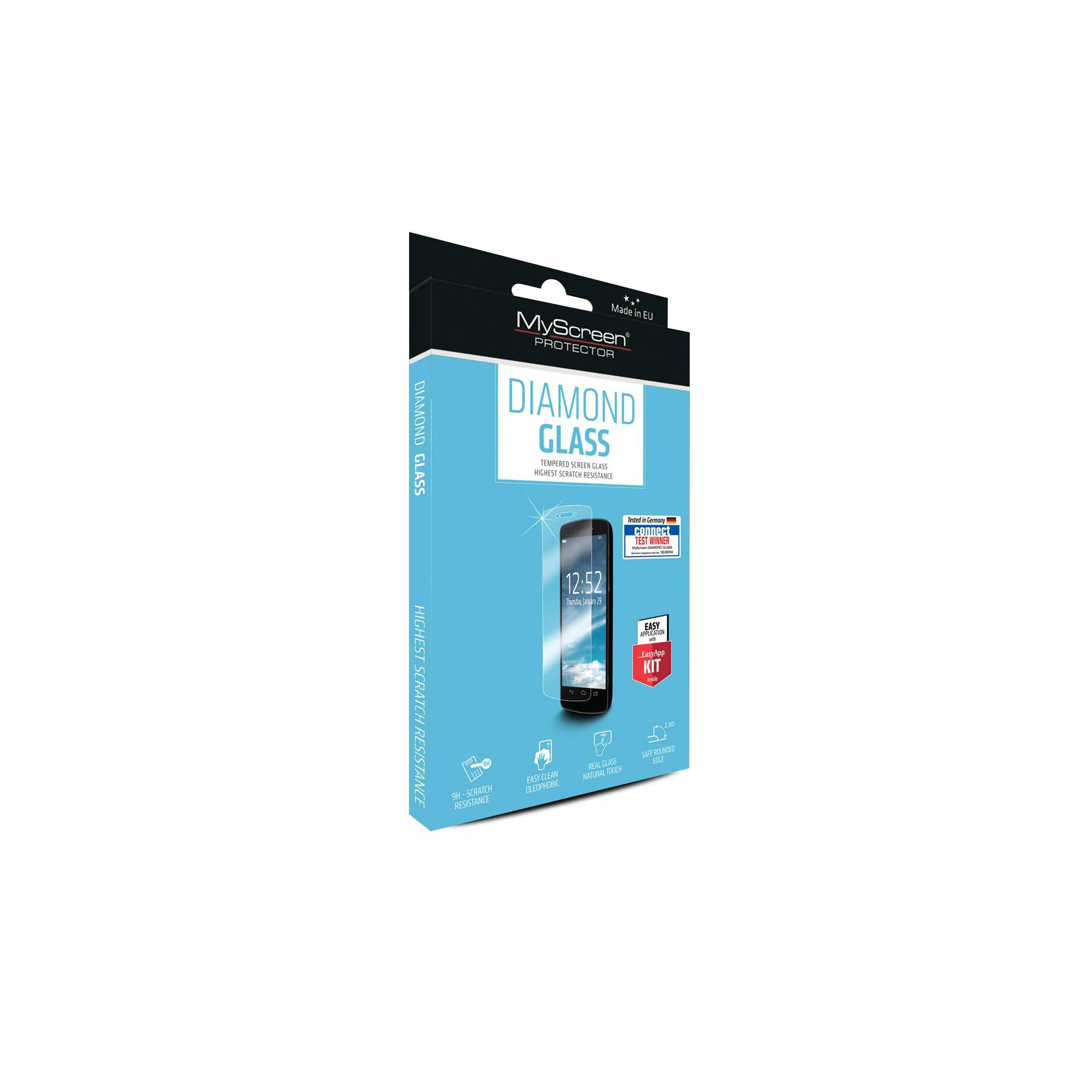 myscreen Myscreen diamond iphone 5/5s/se beskyttelsesglas fra mackabler.dk
