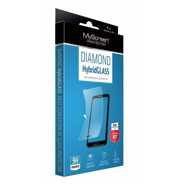 MyScreen Hybrid iPhone 5 - Indeholder: MyScreen Diamond Hybrid glas, applikationssæt, vådserviet, tør serviet, støv fjerner og bruger manual. Tykkelse: 0,15mm Ridsefasthed: 8H Indpakning: 165mm x 100mm x 10mm