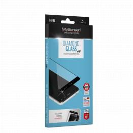 myscreen Myscreen edge samsung galaxy a8 2018 sort beskyttelsesglas fra mackabler.dk