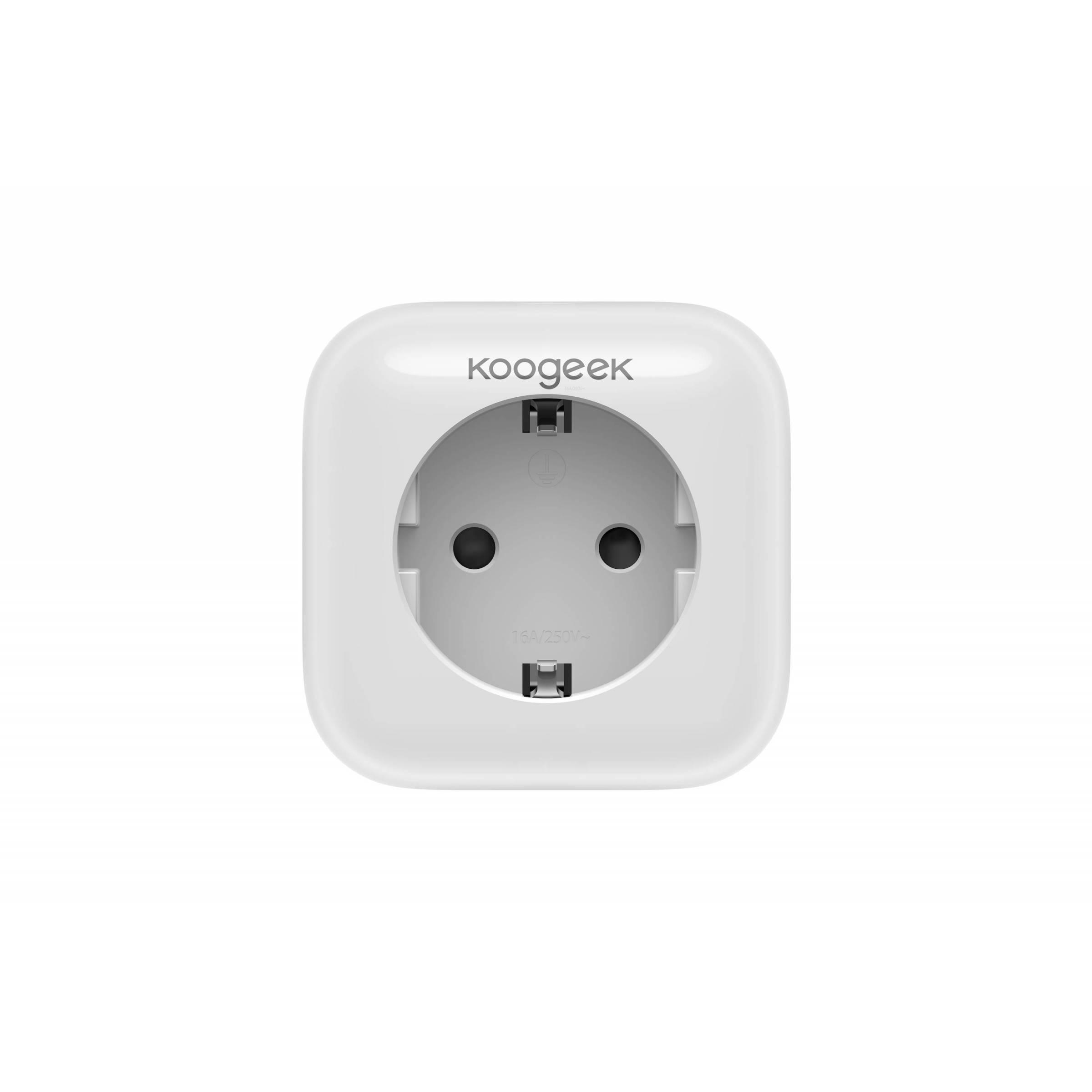 koogeek – Koogeek smart plug stikkontakt med homekit, alexa og google home  (p1eu) på mackabler.dk