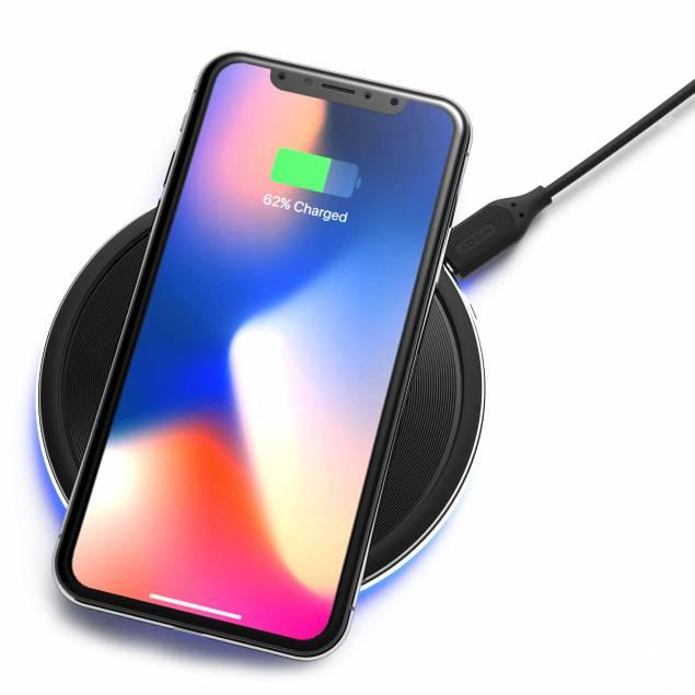 Adam Elements Q1 trådløs oplader m. 7,5W til iPhone