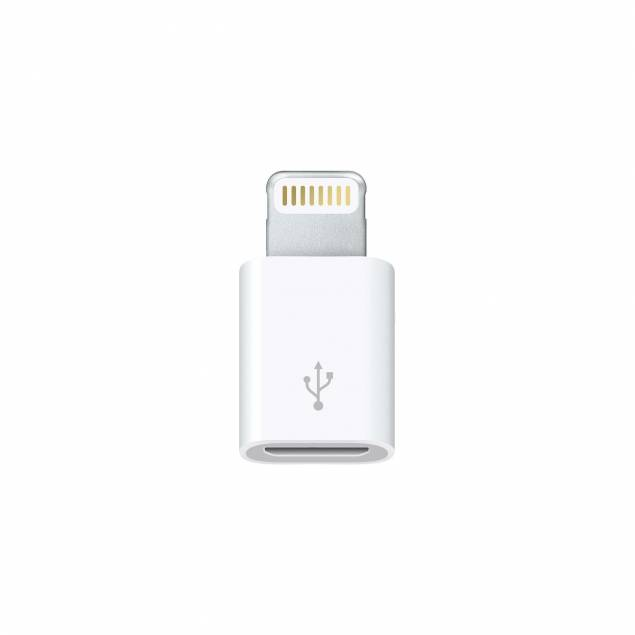 Image of   Apple Lightning til Micro USB-mellemstik