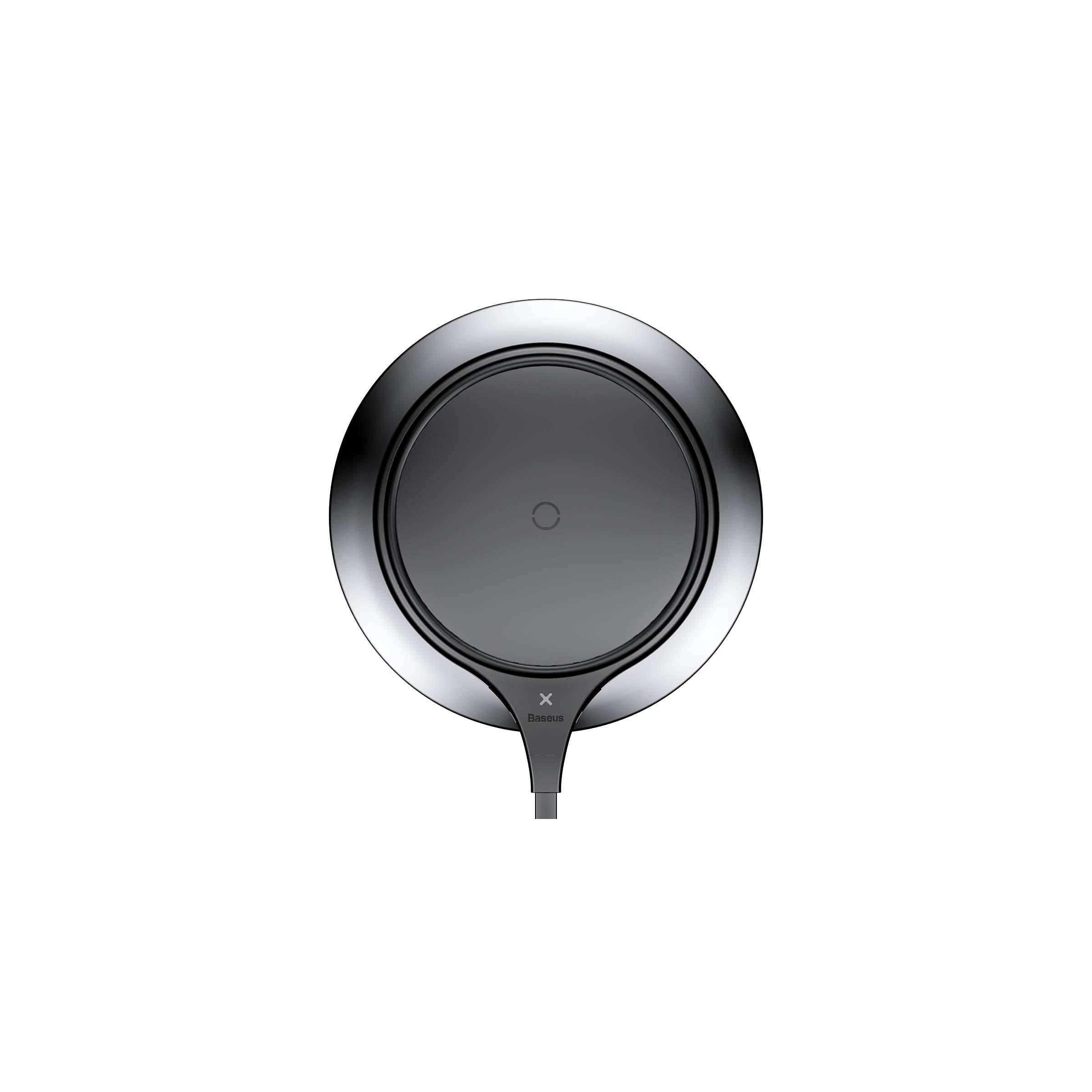 Billede af Baseus Trådløs oplader plade i Zinc alloy til iPhone 7,5W Sort/Hvid