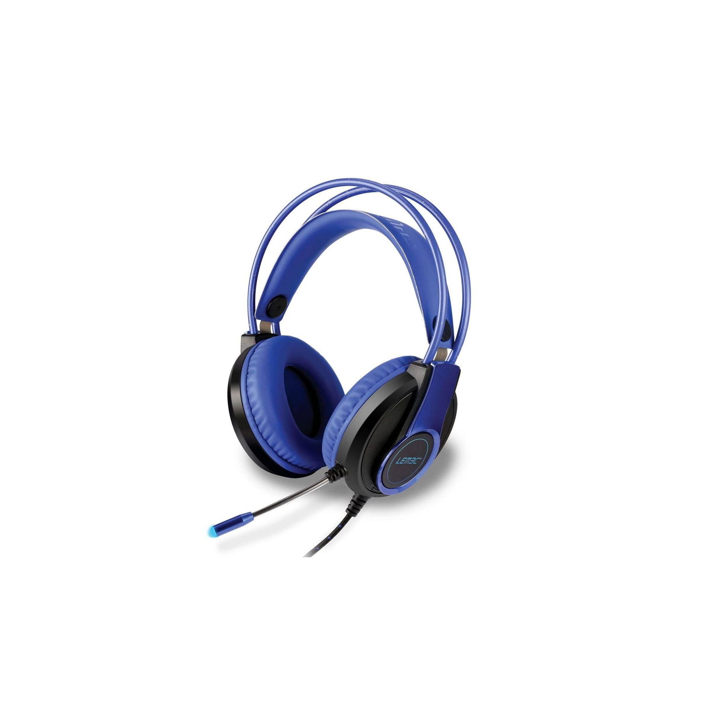 Lemec gaming headphones fra lemec på mackabler.dk