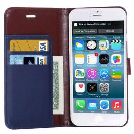 iPhone læder cover kortholder med klap til iPhone 6/6s plus