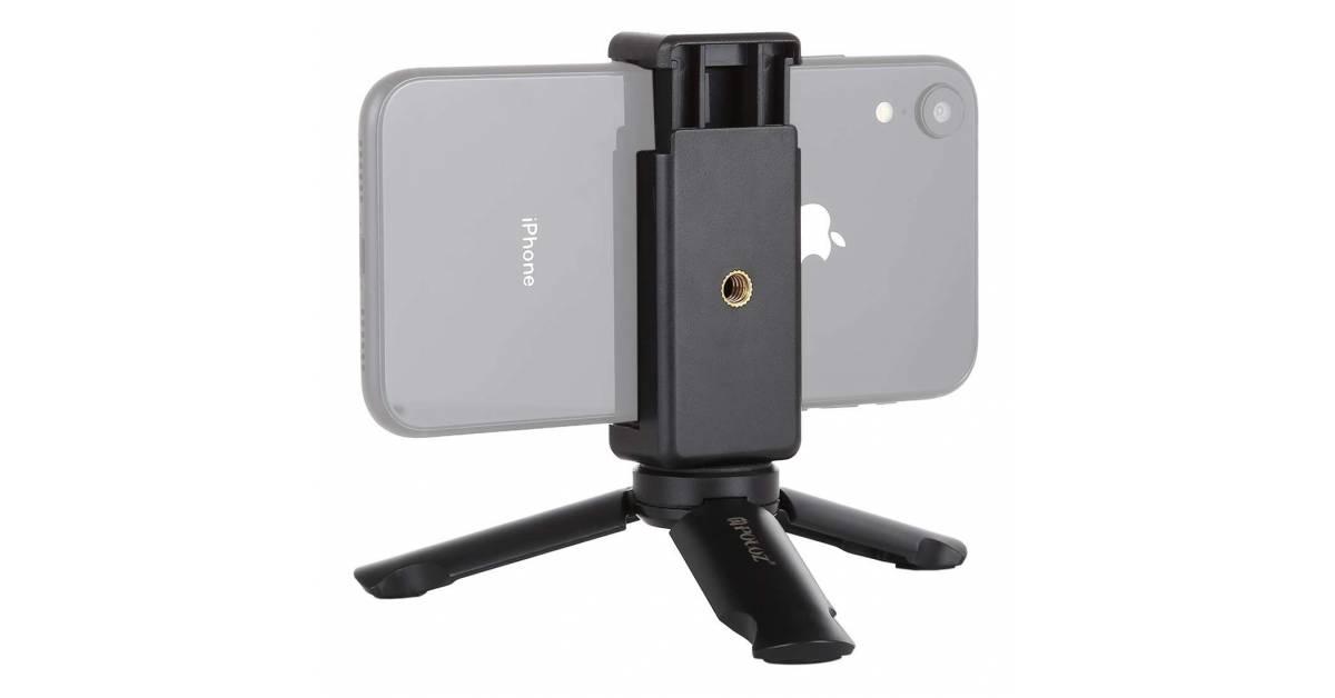 da580f30c00 Stabil tripod med iPhone holder - MacKabler.dk fra PULUZ