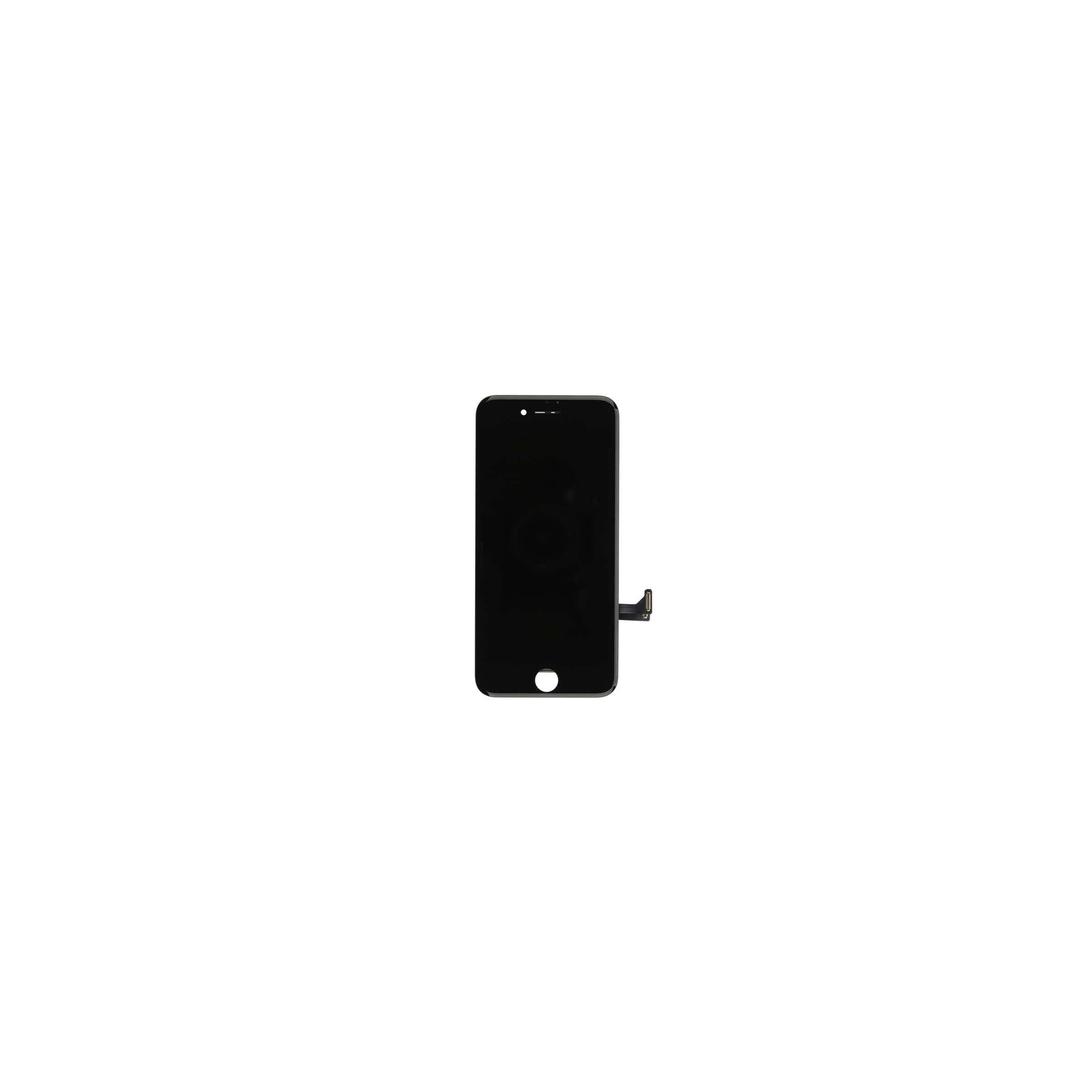 Iphone 8 plus skærm i høj kvalitet farve sort fra sinox på mackabler.dk