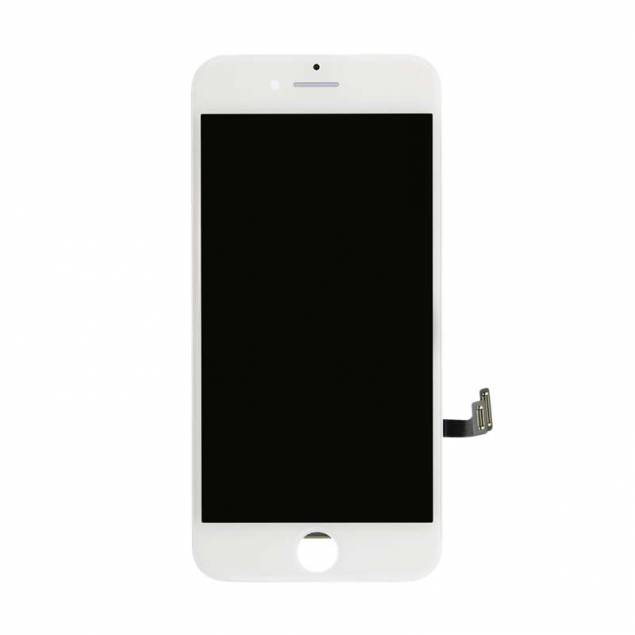 iPhone 8 plus Skærm i Semi Original kvalitet - Farve - Hvid