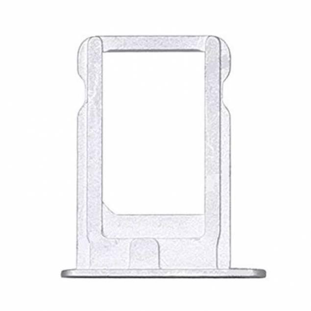 iPhone 5 SIM tray I Alu Sort/hvid