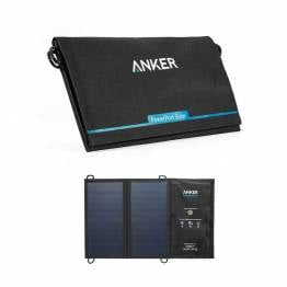 Image of Anker PowerPort solcelle panel 15W Sort