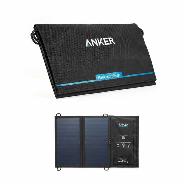 Anker PowerPort solcelle panel 15W Sort
