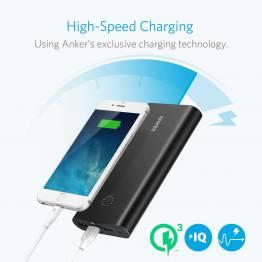 Anker PowerCore+ 26800 mAh powerbank Quick Charge 3.0 sort