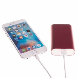 Image of   GreyLime Power Tough 5200mAh Powerbank til iPhone Farve Rød
