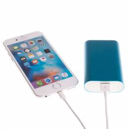 Image of   GreyLime Power Tough 5200mAh Powerbank til iPhone Farve Lyseblå