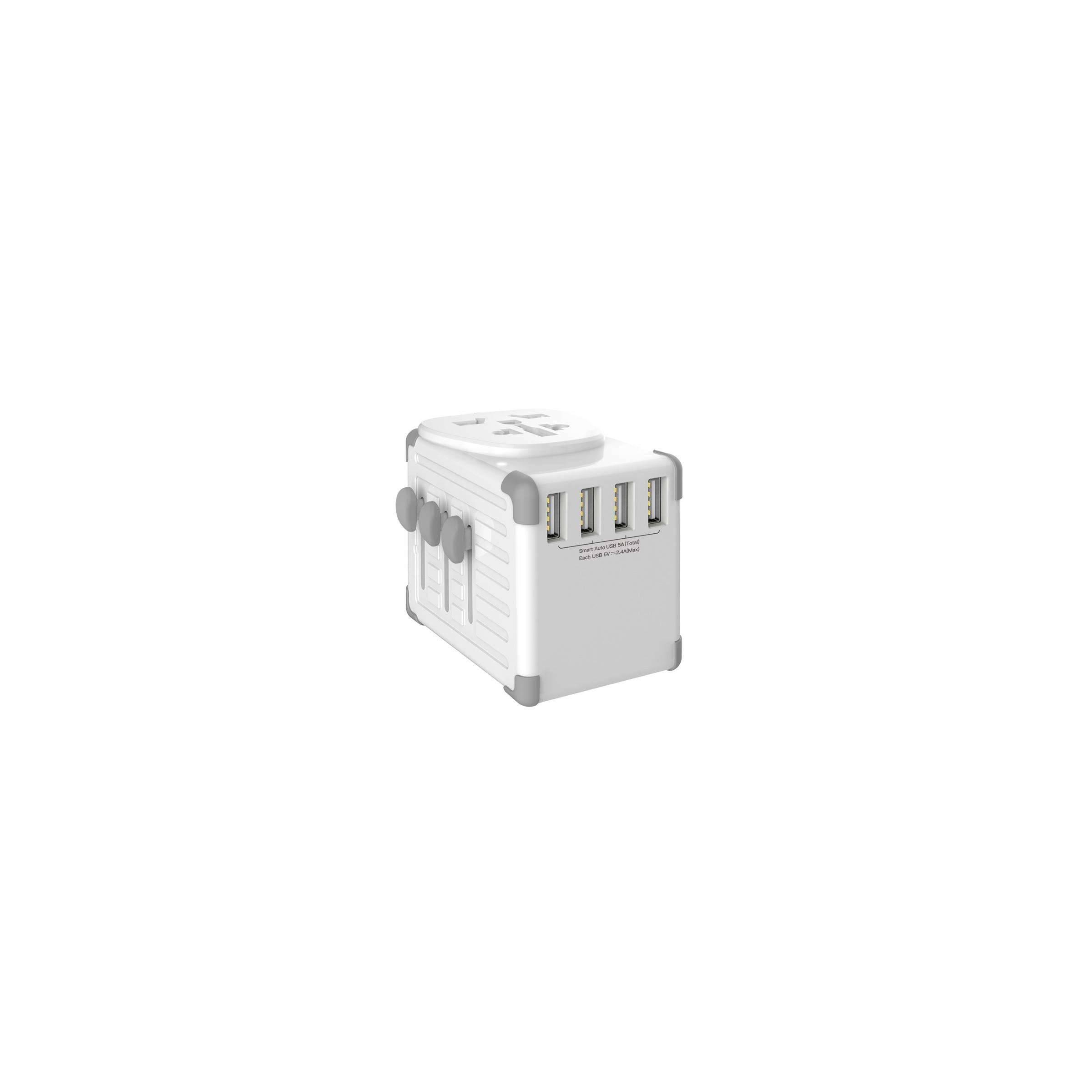 zikko – Zikko worldwide travelsmart adapter 4 usb port på mackabler.dk