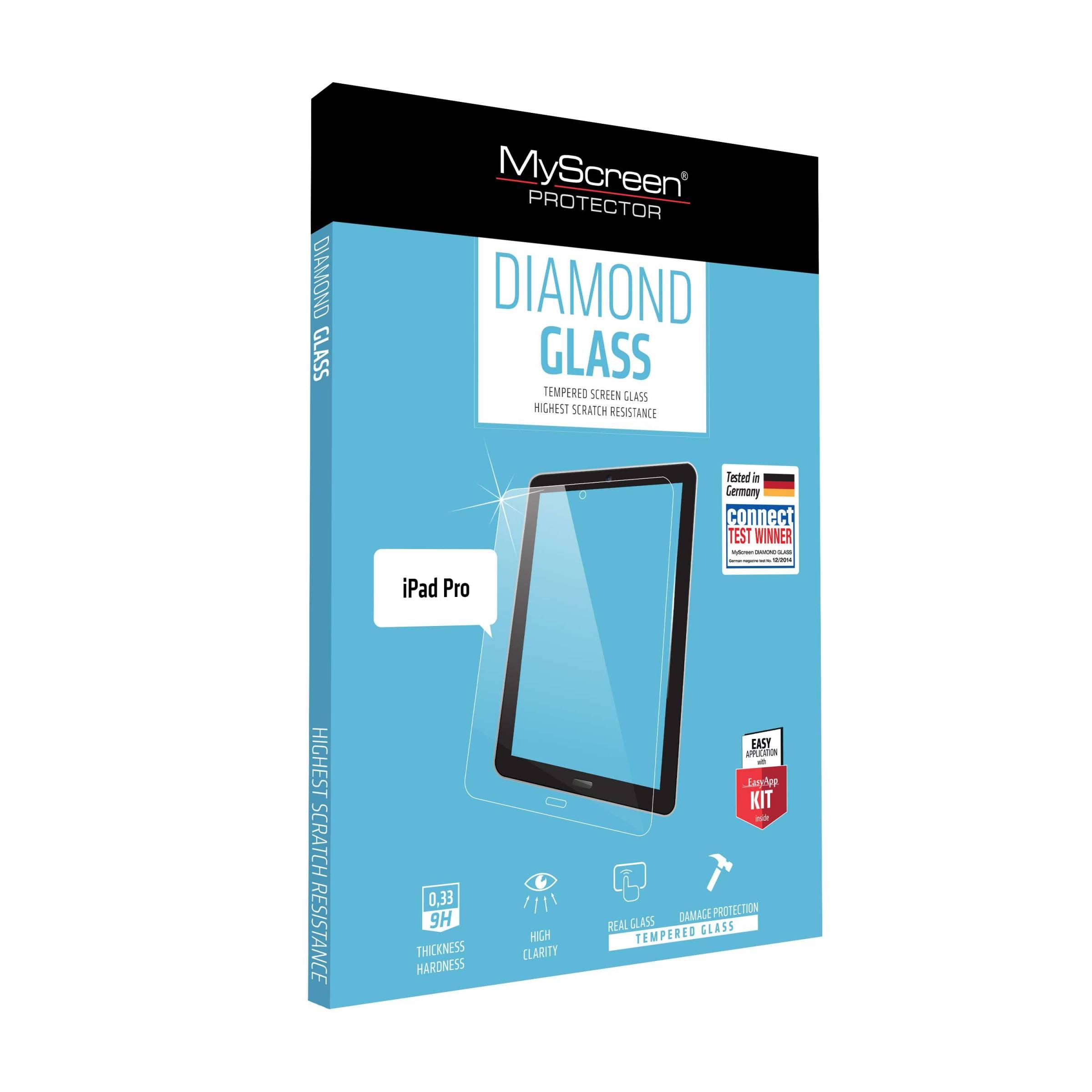 "Myscreen diamond ipad pro 12,9"" 2018 beskyttelsesglas fra myscreen fra mackabler.dk"