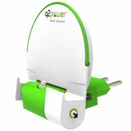 Q2Power Lightning Dock med powerbank til iPhone