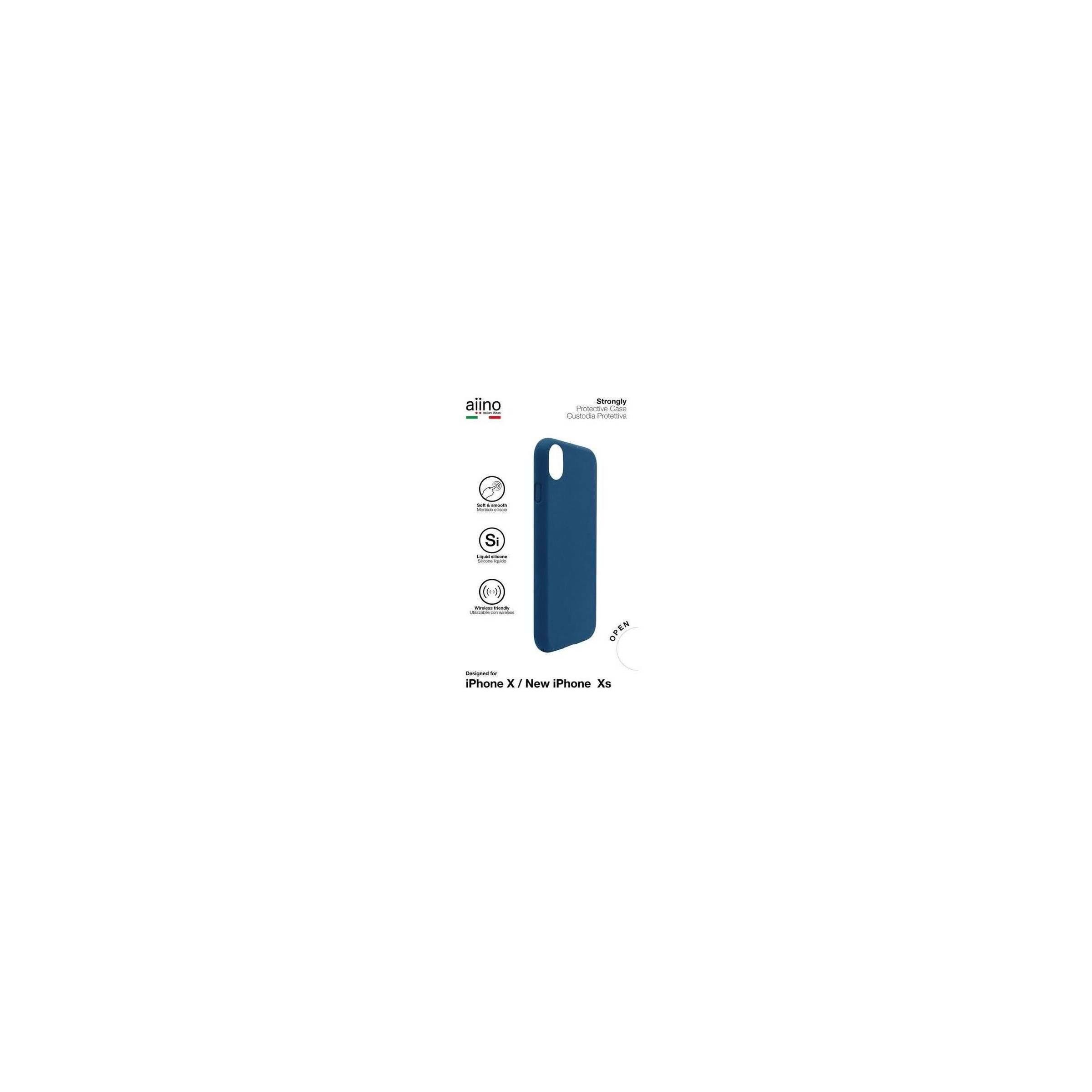 aiino – Aiino strongly premium cover til iphone x / xs farve mørke blå fra mackabler.dk