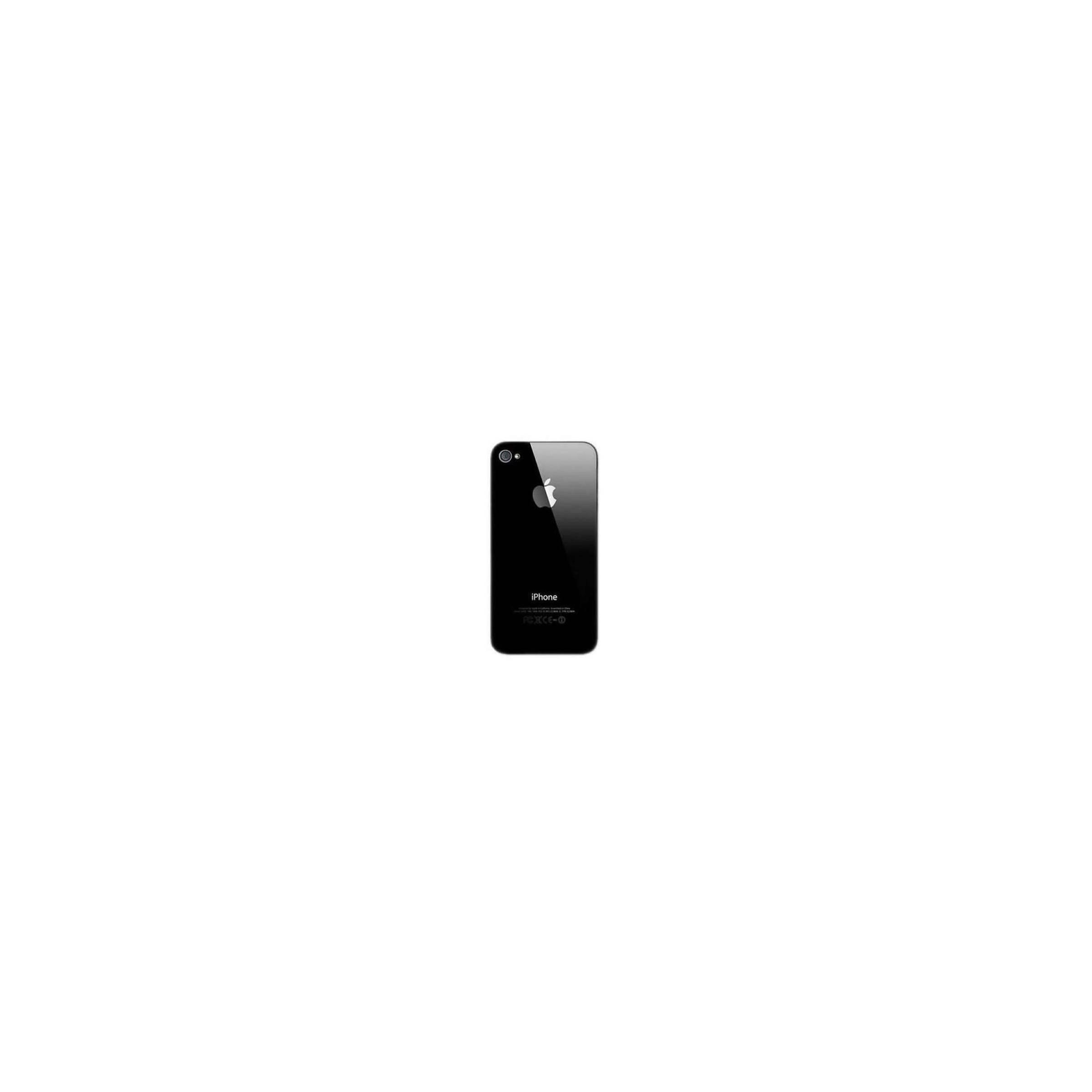 Iphone 4s glass back bagsiden farve sort fra sinox på mackabler.dk