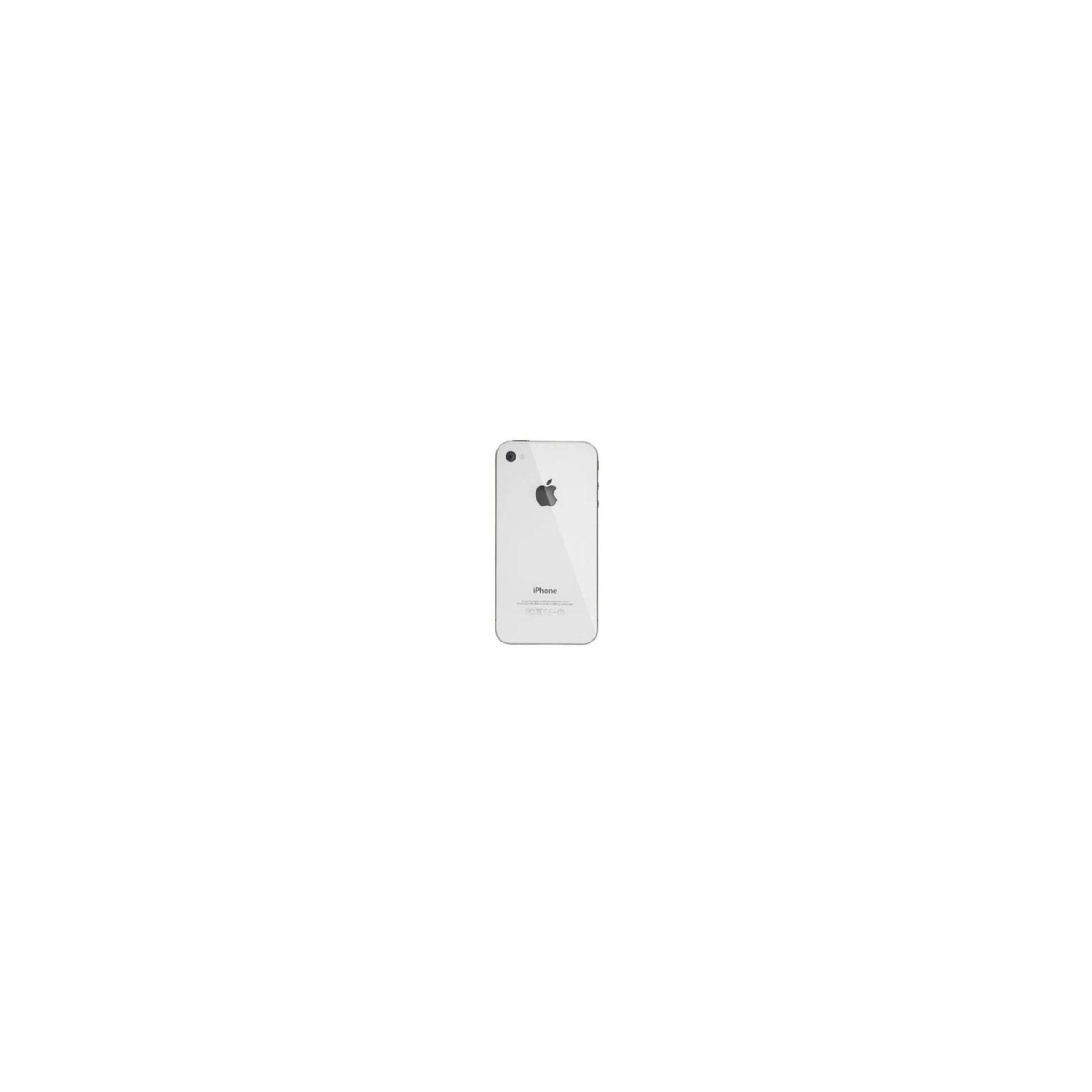 sinox Iphone 4s glass back bagsiden farve hvid på mackabler.dk