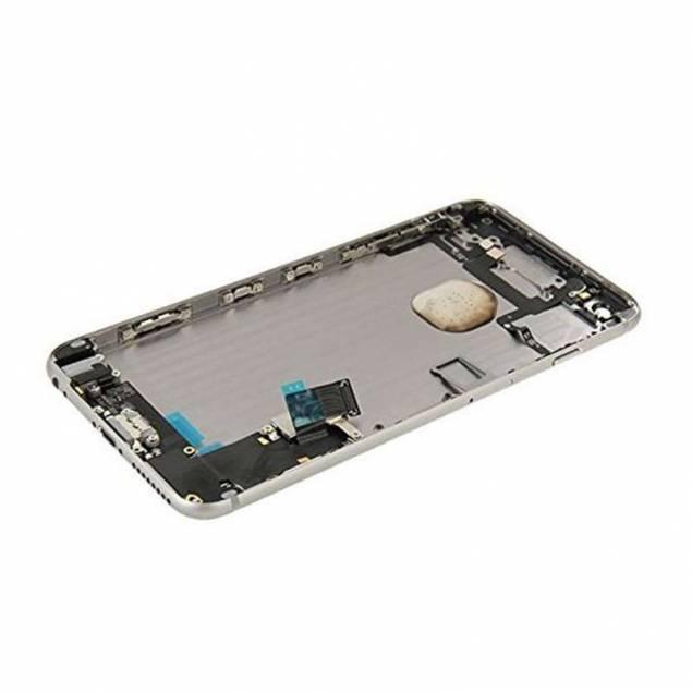 iPhone 6 Housing Spacegray/Gold/Silver - Farve - Space grey - iPhone 6 Housing Spacegray/Gold/Silver er reparations udstyr til iPhone der kan give dig en ny housing til iPhone, hvilket er super praktisk. Selek er leverandøren af dette reparations udstyr til iPhone og de er kendt for at levere produkter med teknikken