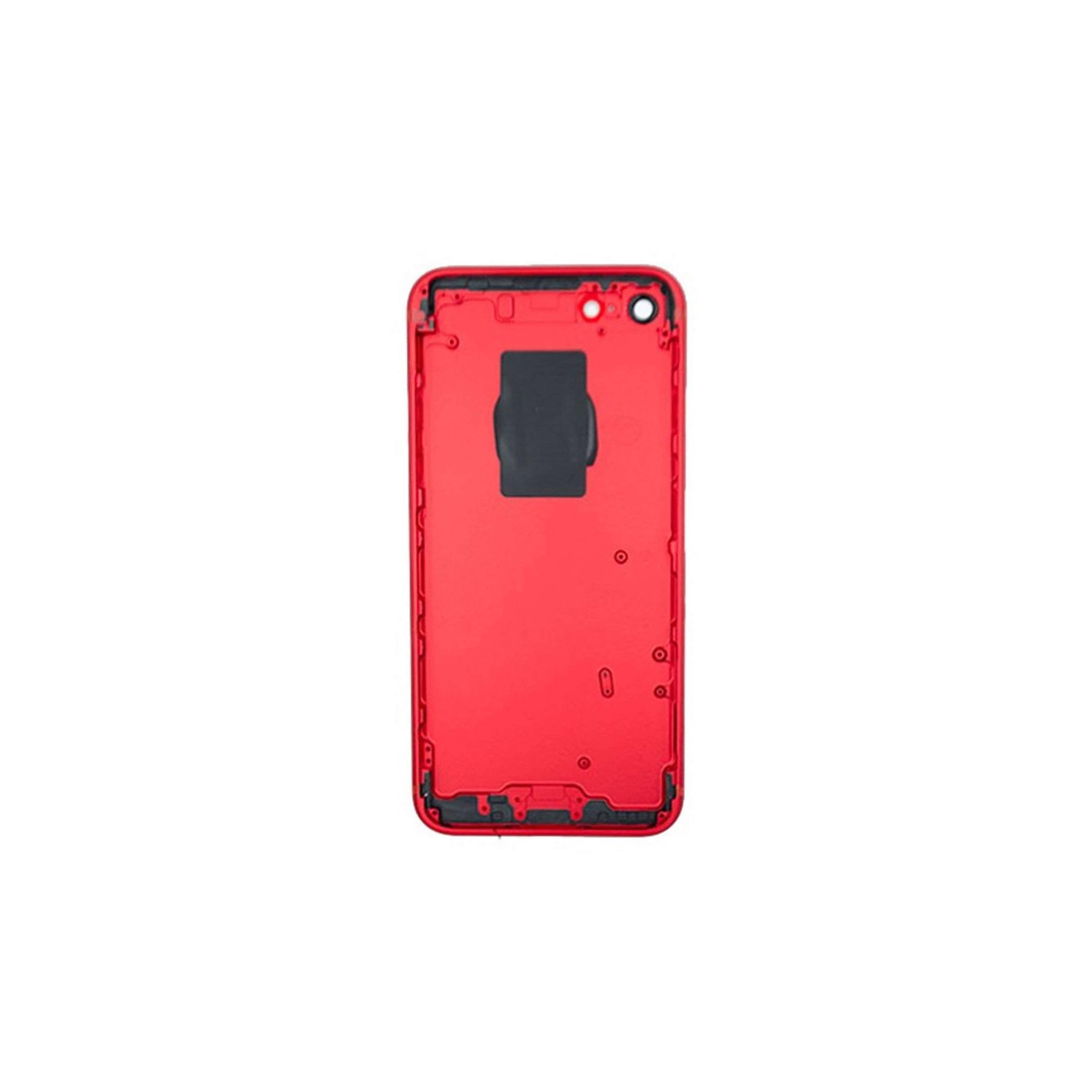 Iphone 7 housing farve rød fra sinox fra mackabler.dk
