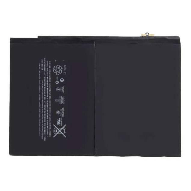 """iPad Air 2 9,7"""" batteri 7340 mAh 27,62 Wh Originalt - iPadAirbatteri på 8600 mAheller 32,4 WhWh, som du kan bruge hvis dit iPad Airbatteri er gået i stykker eller er blevet dårligt. Batteriet eroriginalt fra Apple og virker som et normalt nyt iPad Air batteri."""