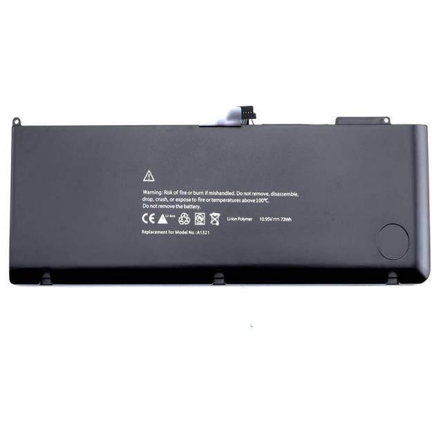 """Macbook Pro 15"""" A1321 Batteri Originalt 2009-2010 - Batteri tilMacbook Pro 15"""" A1321, den passer til dem fra 2009 til 2010, det er dem før retina udgaven, som hedder unibodyog er lavet af aluminium og har DVD drev."""