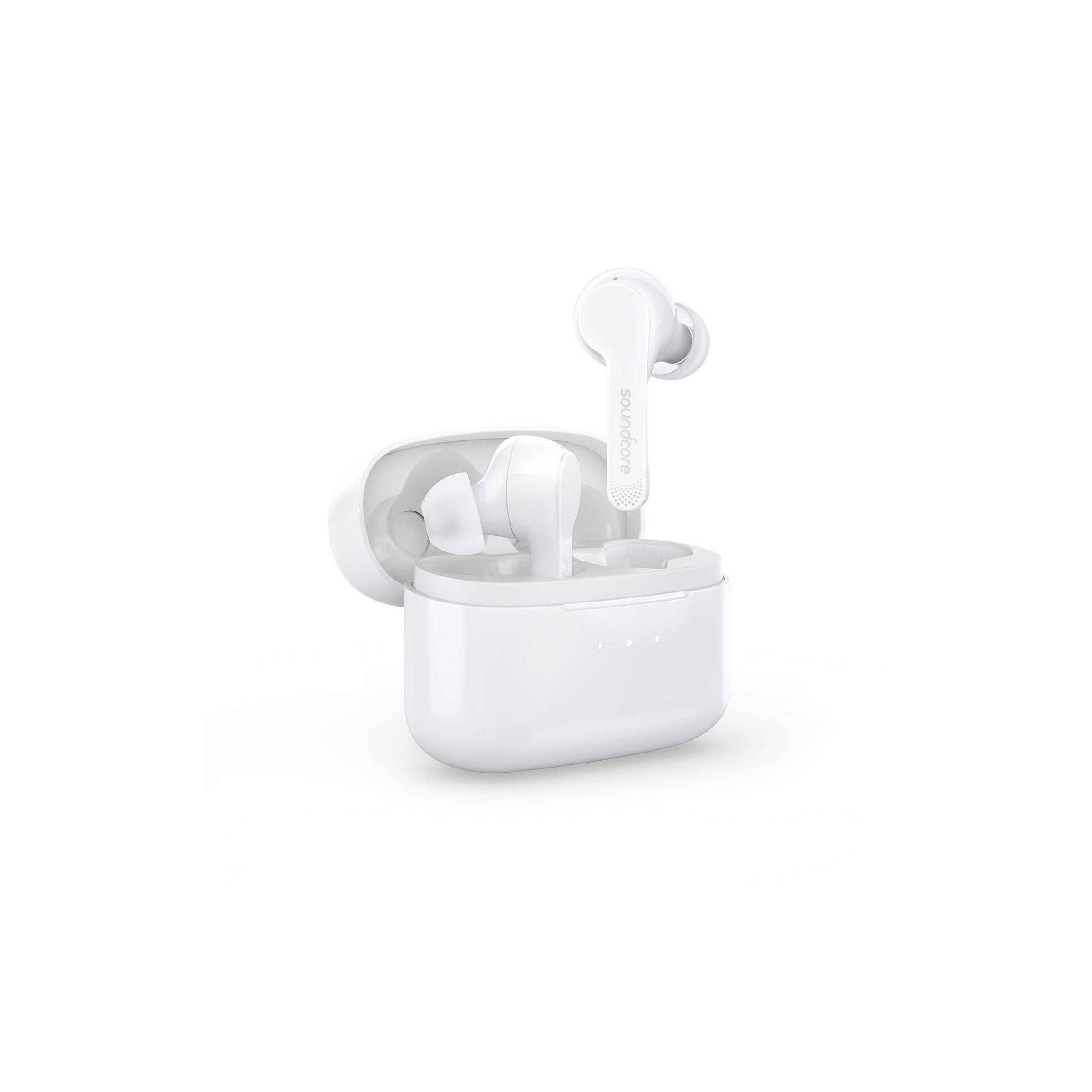 Anker soundcore liberty air hvid/sort true wireless headset til iphone osv farve hvid fra anker på mackabler.dk