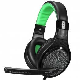 Image of   Scorpion H8323 Gaming headset sort og grøn med mic
