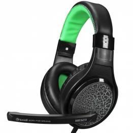 scorpion by marvo Scorpion h8323 gaming headset sort og grøn med mic fra mackabler.dk