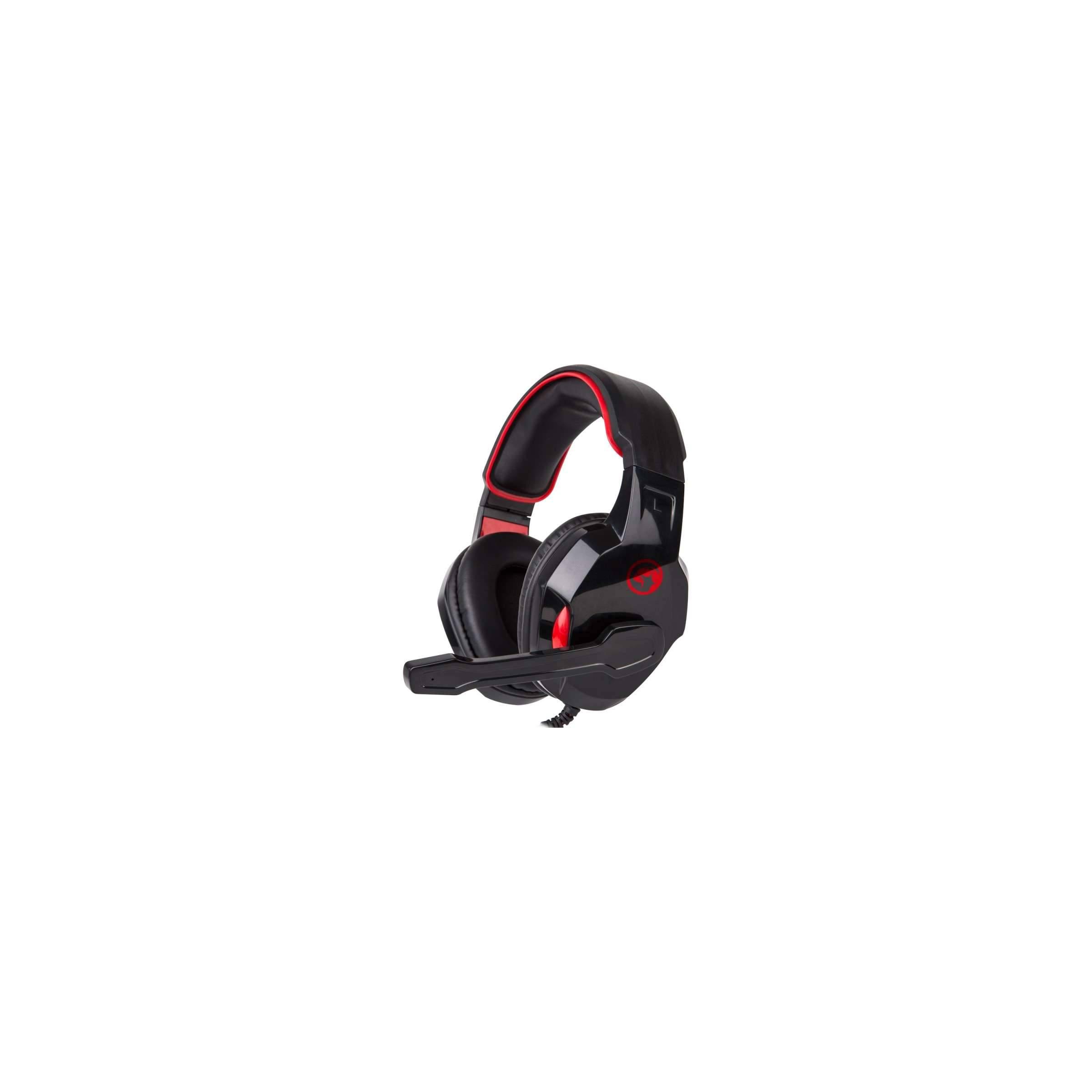 scorpion by marvo – Scorpion hg8802 gaming headset sort og rød med mic fra mackabler.dk