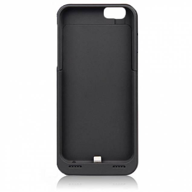 """iPhone 6 battericover - Dette battericover virker til iPhone 6, den med 4,7"""". Når du har coveret på din iPhone 6, skal du blot tænde for det, hvorefter at den vil lade din iPhone 6. Når coveret er løbet tør for strøm eller telefonen, tilslutter du blot covert til en strømkilde h"""