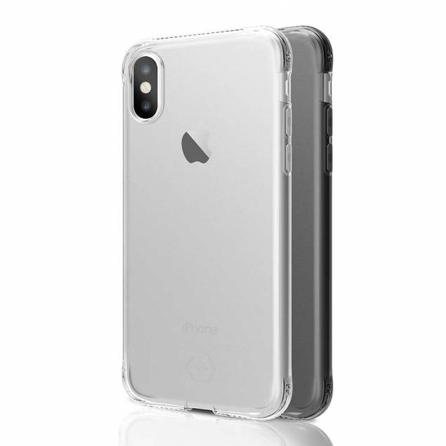 ITSKINS slim silikone Protect Gel iPhone X/Xs cover dobbelt 2x pakke