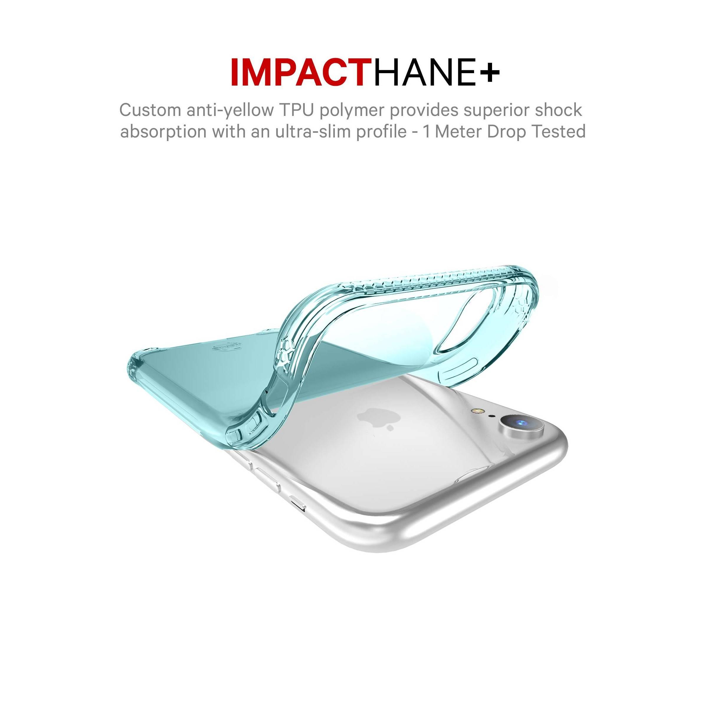 itskins – Itskins slim silikone protect gel iphone xr cover dobbelt 2x pakke farve klar & grøn fra mackabler.dk