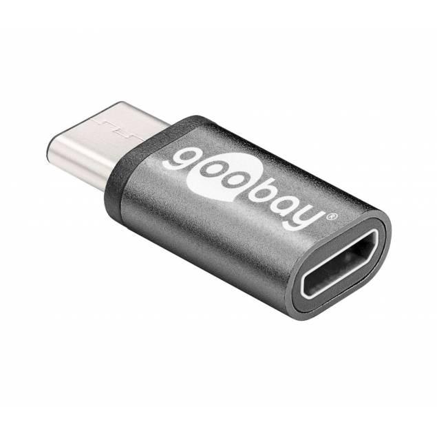 Micro USB til USB 3.1 Type-C adapter