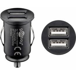 HAWEEL dobbelt USB biloplader