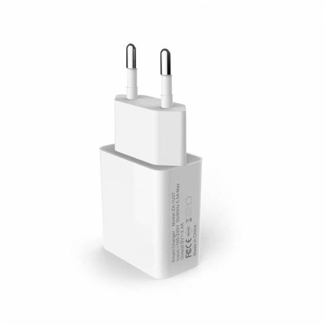 Hårdført mfl kabel og en 12W M7 iPhone/iPad oplader - AP5-Pack - 5d18d2c826169 - Hårdført mfl kabel og en 12W M7 iPhone/iPad oplader er det perfekte partnerskab når det kommer til opladning af iPhone. Begge dele kommer i et stilrent design og med et simpelt formål, der er fokuseret på effektivt at opfylde dine opladnings behov til din