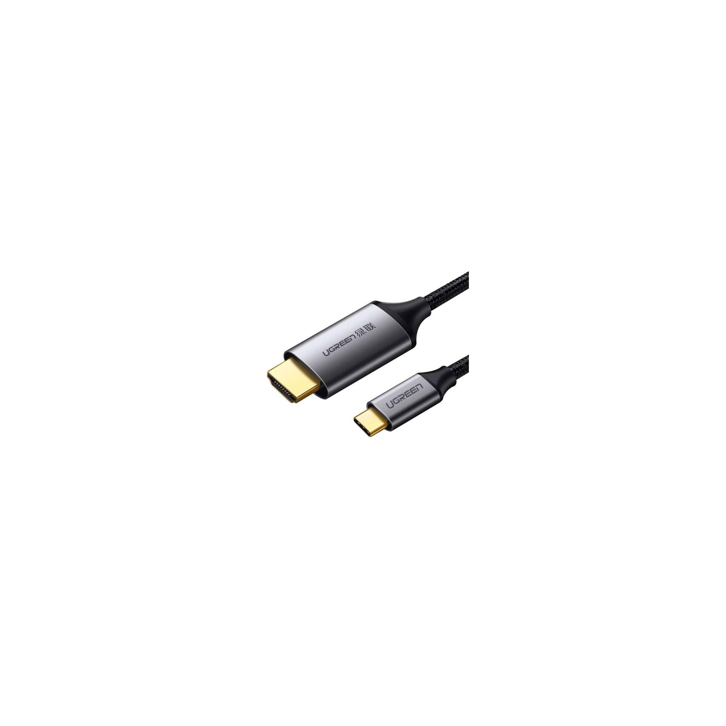 ugreen – Usb-c til hdmi kabel i grå på 1,5m ugreen på mackabler.dk