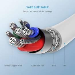 Ugreen USB-C til Lightning kabel MFi 1m