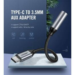 USB-C til Mini jack 3.5mm Ugreen