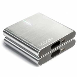 LIFEPOWR A2 27.000mAh Powerbank m. USB-C PD, USB-A og AC stik