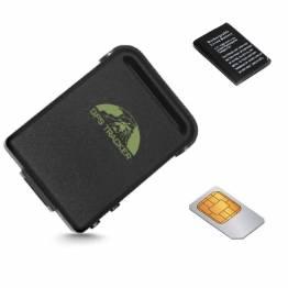 GPS Tracker m. Simkort & ekstra batteri