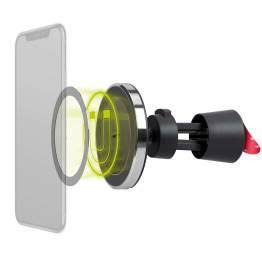 Goobay magnetisk bilholder med 7,5W Qi opladning