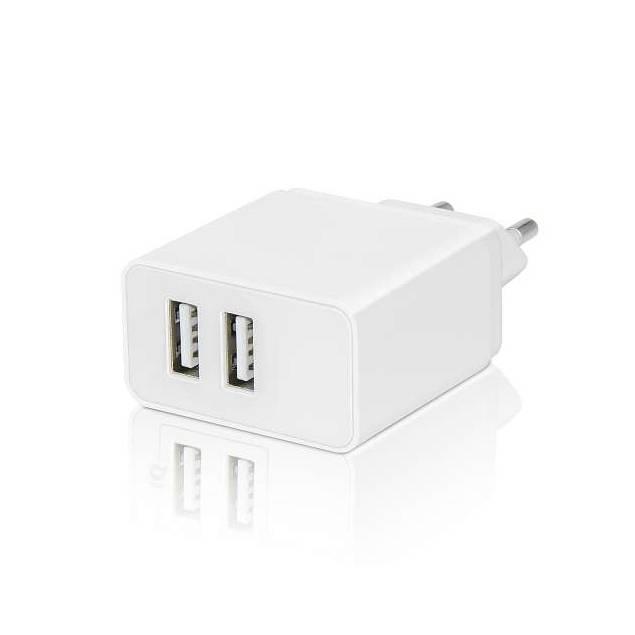 M7 iPhone/iPad dobbelt USB oplader med 2 lightning kabler - AP5-Pack - 5d93aaebd5204 - Dobbelt USB oplader med 2 lightning kabler.