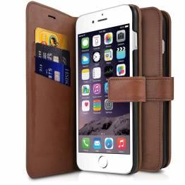 Image of   ITSKINS Book omslag og bagcover i et til iPhone 6/6S/7/8 Brun