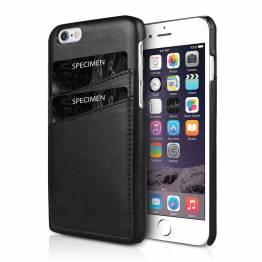 ITSKINS Eco-Læder Cover til iPhone 6/6S/7/8 Sort