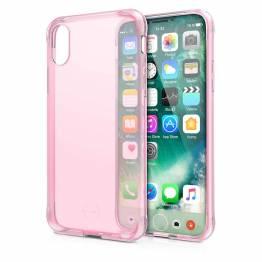 ITSKINS Gel Cover iPhone X/Xs Gennemsigtigt lys pink