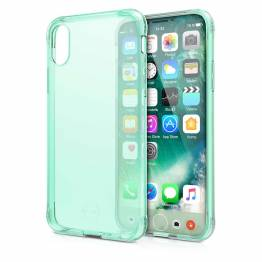 ITSKINS Gel Cover iPhone X Gennemsigtigt lys grøn